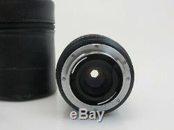 Vario Elmar R f3,5 4,5 28 70mm E60 lens No3547157 Leica R mount Leitz case sm104